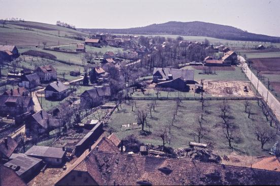 Blick vom Oberdorf Königsholz